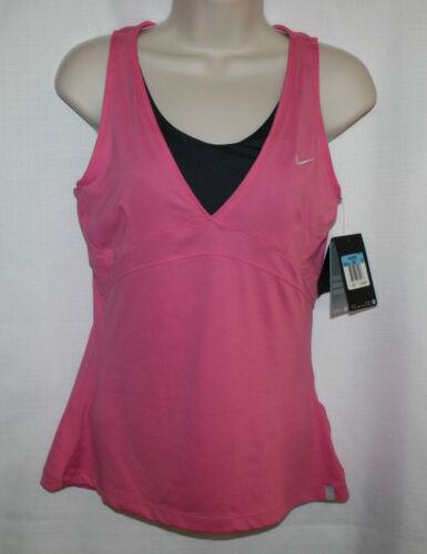 tirantes de y mujer Nike sujetador rosa gris para 00 incorporado 55 Sport Camiseta talla con Nuevo M twZqt
