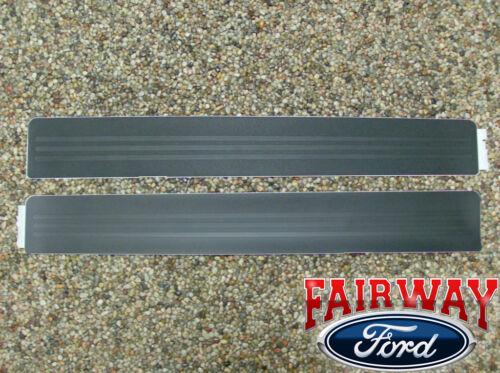 2009 thru 2014 F-150 OEM Genuine Ford Door Sill Scuff Plate Protectors 2pc Kit