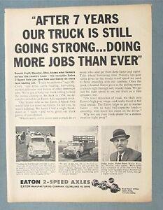 Jeep Yuma Az Original-8x11-1961-Eaton-Truck-Axle-Ad-Endorsed-by-Donald-Croft-of ...