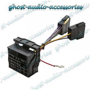 vauxhall combo iso to quadlock conversion lead wiring loom harness rh ebay co uk vauxhall combo van wiring diagram vauxhall combo stereo wiring diagram