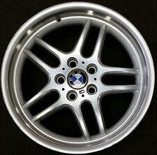 """18"""" BMW 740i FACTORY OEM ALL POLISHED ALLOY WHEEL RIM 2000-2001 18x9 1/2"""