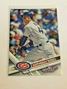 2017-Topps-Opening-Day-Baseball-Base-Card-96-Anthony-Rizzo-Chicago-Cubs