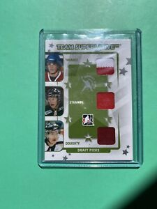 2008-ITG-Team-Superlative-Draft-Picks-Tavares-Stamkos-Doughty-Jersey-9-RC