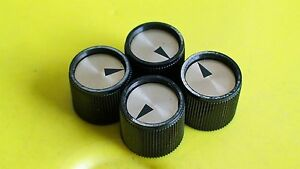 VINTAGE MID 1960'S KAY GUITAR BASS KNOB SET USA NEW OLD STOCK CONDITION (CAT)