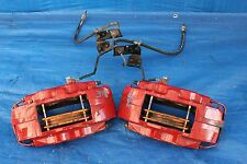 2008 MITSUBISHI LANCER EVOLUTION X MR BREMBO FRONT BRAKE CALIPERS EVOX CZ4A #398