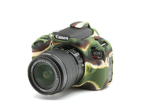 Details About Camera Silicone Cover For Canon Eos Rebel T5 Eos 1200d Camouflage