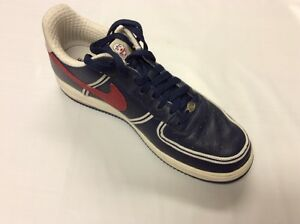 NIKE  Air Force One Premium Untold Truth Clowns  Red-Navy  Mens 10.5