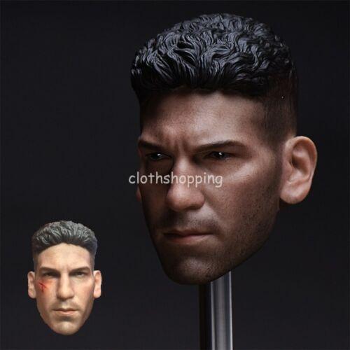 """1//6 SCALA DEVIL PUNITORE Jon bernthal HEAD scolpire modello per 12/"""" FIGURA MASCHILE"""