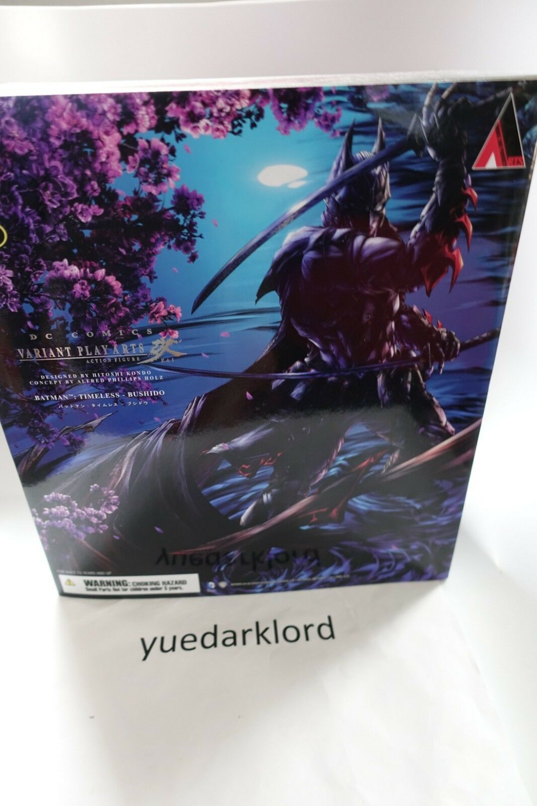 Play Arts Kai Batman Timeless Bushido Figure **Nuovo** RARE 100% Real