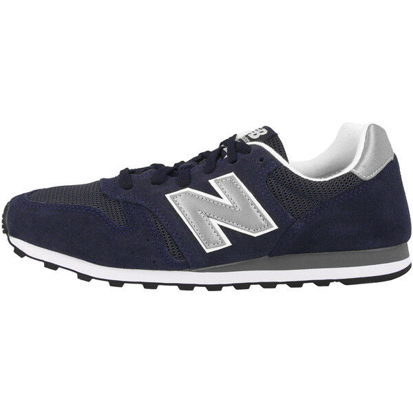 New Balance ML 373 NAY Schuhe navy silver ML373NAY Sneaker dunkelblau silber
