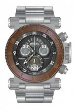 NEW Invicta Coalition Forces Chronograph Dial Stainless Steel Mens Watch 17645