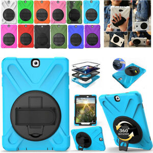 For-Samsung-Galaxy-Tablet-Tab-S2-S3-Pirate-Defender-Rotating-Stand-Case-Cover