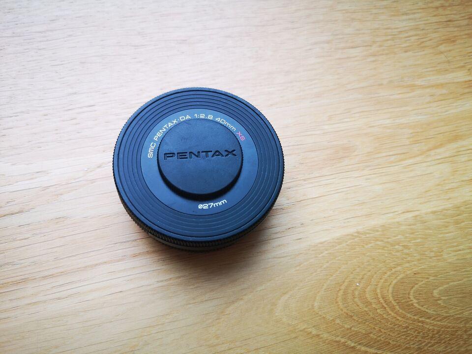 teleobjektiv, Pentax, SMC DA XS 40mm 1:2.8
