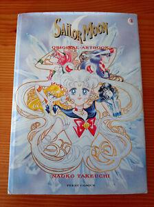 Sailor Moon Artbook Band 1 - Hardcover - 1999 - Naoko Takeuchi Anime / Manga