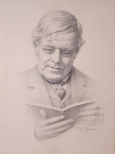 Reginald Campbell 1877 1962 Fine Pencil Drawing Ireland 1916