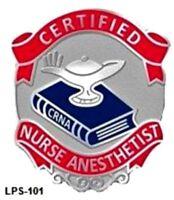 Certified Nurse Anesthetist Crna Medical Lapel Pin 101