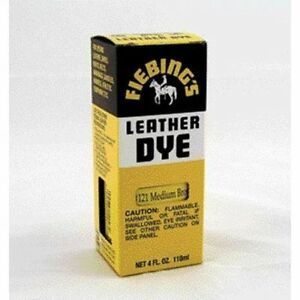 Fiebing Leather Dye Medium Brown 4Oz