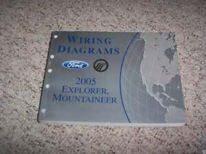 2005 Ford Explorer Electrical Wiring Diagram Manual XLS Sport XLT Eddie  Bauer V8 | eBayeBay