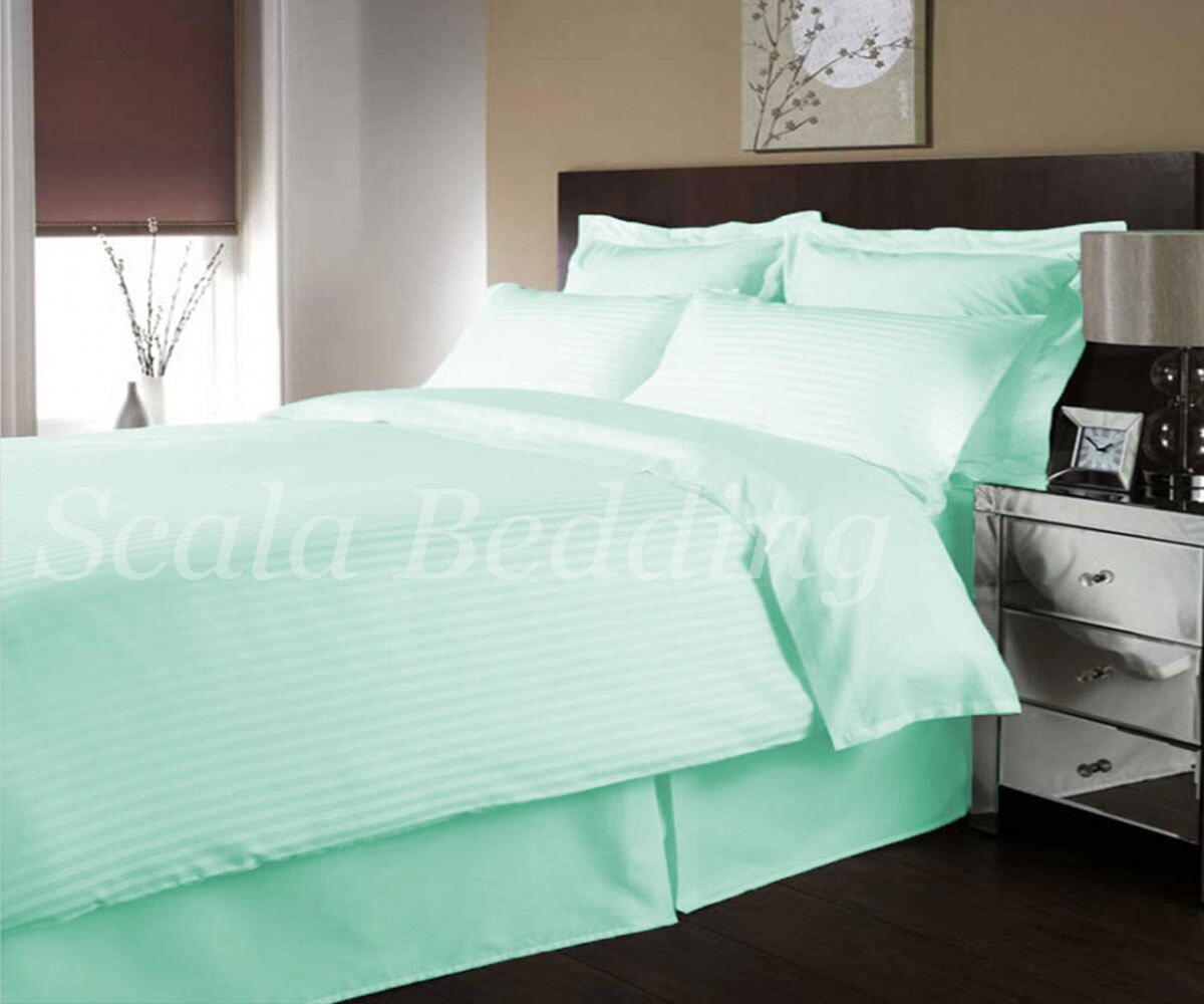 1 Piece Striped Duvet Cover 1000 TC Egyptian Cotton All Sizes & colors