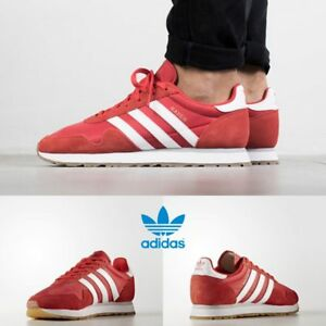Adidas Sale  Adidas Haven Unisex Original Red White Brown By9714 Size 411 Limited