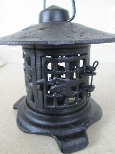 Image Is Loading Cast Iron Paa Anese Oriental Style Hanging Outdoor