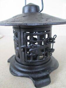 Cast Iron Paa Anese Oriental Style Hanging Outdoor Lantern