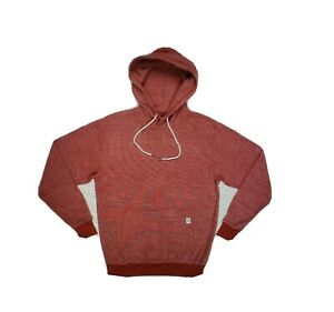 Feat-Socks-Unisex-L-S-BlanketBlend-Pullover-Hoodie-Brick-Red-Sz-Large