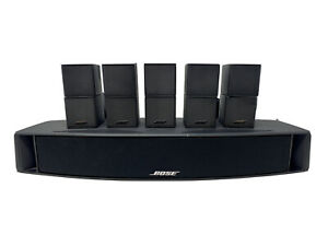 Bose VCS-10 Center Channel Speaker w/ 5 Bi-Directional Surround Speakers—TESTE