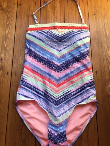 Multi-colour Swimming Costume Swimsuit Size 10 Marks and Spencer