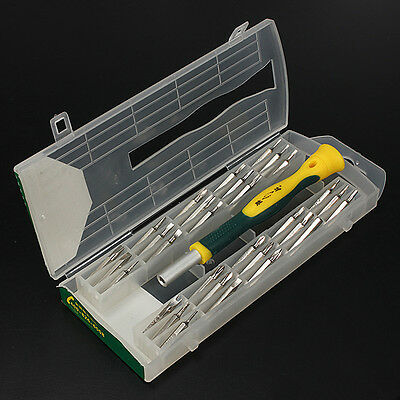 31 in1 Precision Screwdriver Set Phillips Torx Star Slotted Hex Key Security Bit