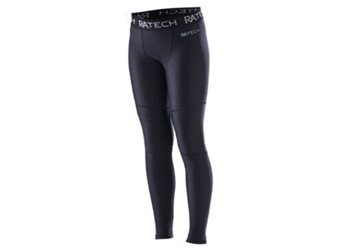 Black Russell Athletic Boys Compression Tights