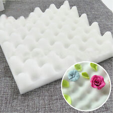 2Pcs  Drying Foam Sponge Mats Cake Fondant Sugar Flower Tool Kitchen