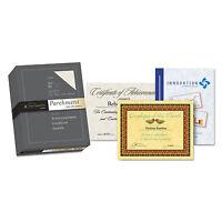 Southworth Parchment Specialty Paper Ivory 24 Lb. 8 1/2 X 11 500/box 984c on sale