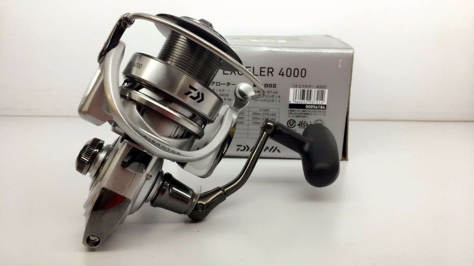 DAIWA Exceler 4000 Spinning Reel 4000 Fedex Priority shipping 2days to Usa