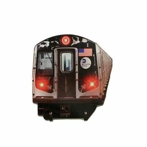 New York City Subway Car Acrylic Magnet NYC Magnets 3 Inches