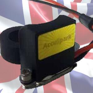TRIUMPH Spitfire 45d Accuspark Spinterogeno /& Bobina Di Sport Rotore Rosso