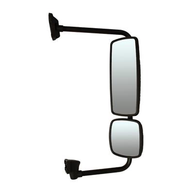 02-11 Freightliner M2 03-14 Columbia Door Mirror Asse  UNHTD Black Manual RH