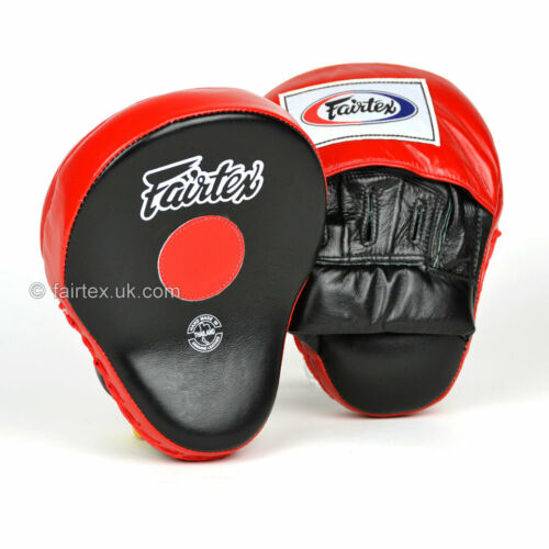 Fairtex Curved Focus Mitt Muay Thai Speed Pad Boxing Striking Mitts Target Pads