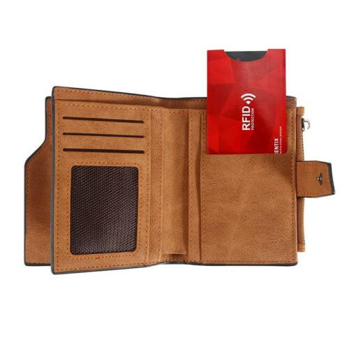 RFID Contactless Credit//Debit Card Anti-Theft Protector Blocker Sleeve Wallet UK