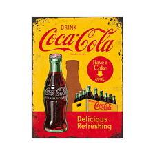 COCA COLA Magnet DRINK COCA COLA Kühlschrank Magnet Coke Softdrink NEU OVP