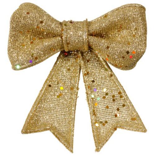Nouveau paillettes bows 3pk magnifique noël decoretions