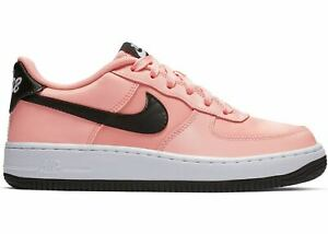 the latest a6b95 5b27f Image is loading Nike-Air-Force-1-VDAY-Bleached-Coral-Black-