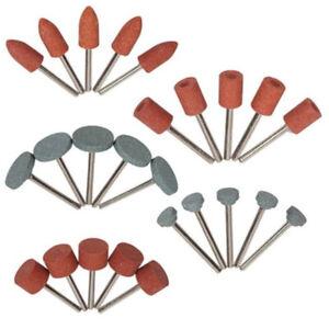 25pcs//Set Abrasive Grinding Stone Polishing Wheel Bits Kit for Rotary Tool Drill