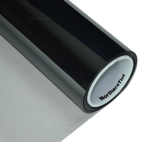 "30/""x10/' Window Tint Roll 70/% vlt Very Light 2ply Ch Black NR Auto Car Tint Film"