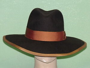 10652dccb6a459 Image is loading STETSON-SHADOW-WOMEN-039-S-WOOL-FLOPPY-HAT