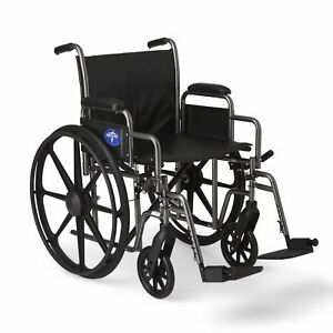 Medline-K2-Basic-Wheelchair-with-20-034-x16-034-Seat-Swing-Away-Footrests-MDS806400EV