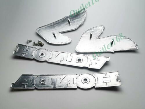 Set New HONDA CL100 K0 CB100 K1 CB350 K2 CL175 Petrol Gas Fuel Tank Emblem Badge