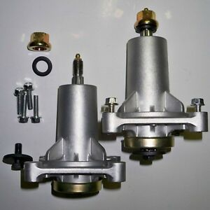 Details about Spindle Assembly 2pk Grease Fittings Craftsman Husqvarna Lawn  Mower Parts 187292
