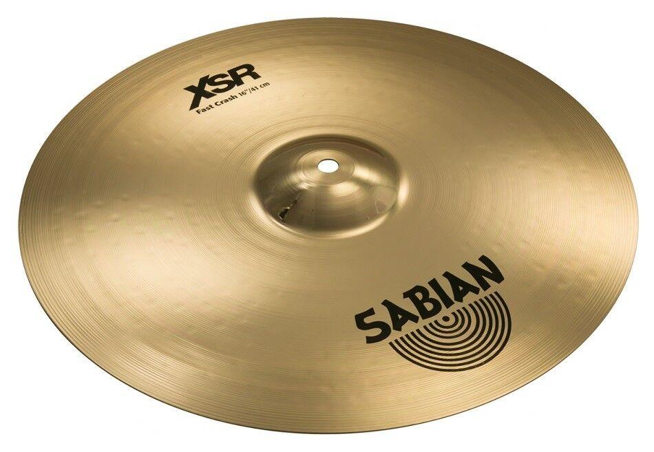 Sabian XSR Fast Crash 16'' - Brilliant