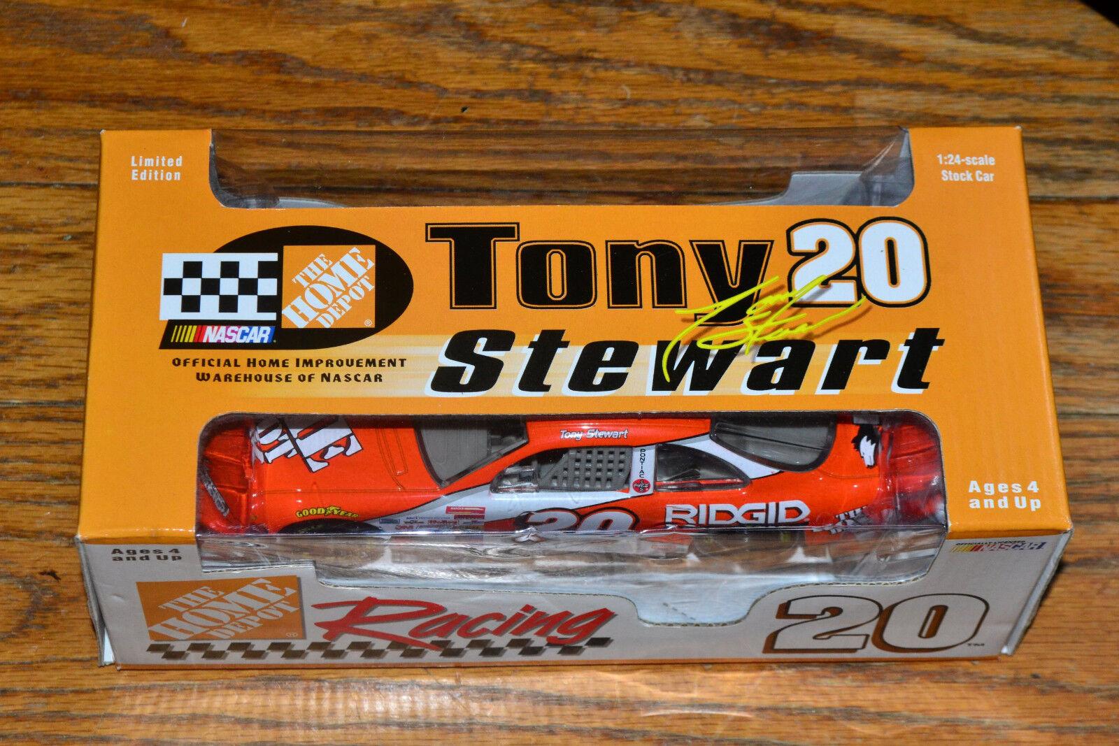 NASCAR 1 24 1999 Action Tony Stewart orange Home Depot Racing Pontiac